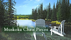 muskoka chair pieces