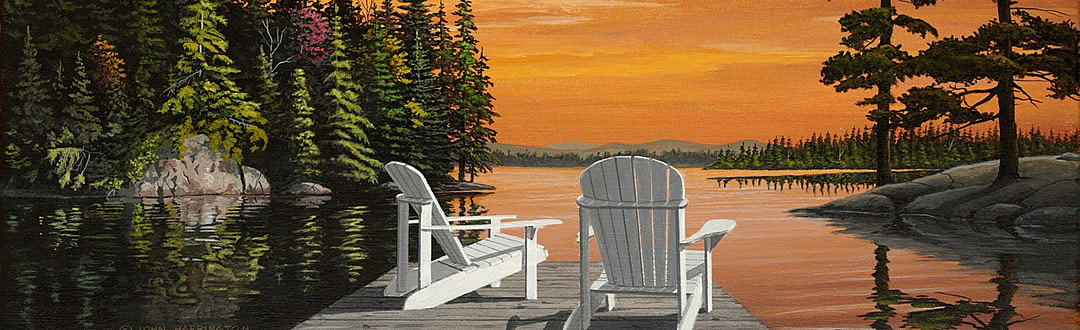 muskoka and northern artist - art of John Harrington